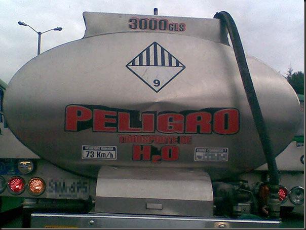 PeligroTransporteH2O