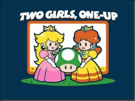 2girls1up