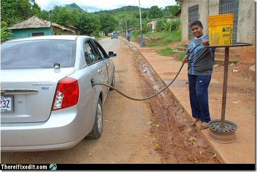 white-trash-repairs-pumping-gas