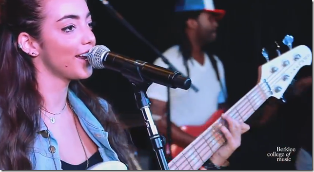 Alissia Benveniste - Let it Out -  Live at Berklee College of Music